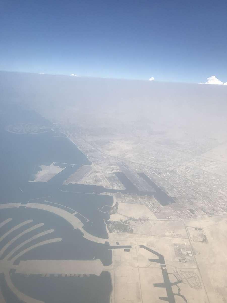 迪拜的天气照片. 天气预报,带Tommy Basamati精美的照片