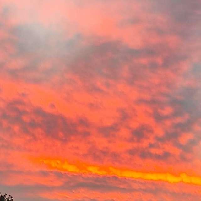 Photos Le coucher du soleil. Prévisions météo avec de superbes photos de Am-b de Monde