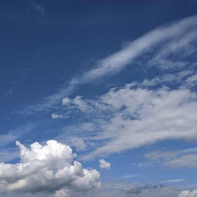 Облака перед грозой
