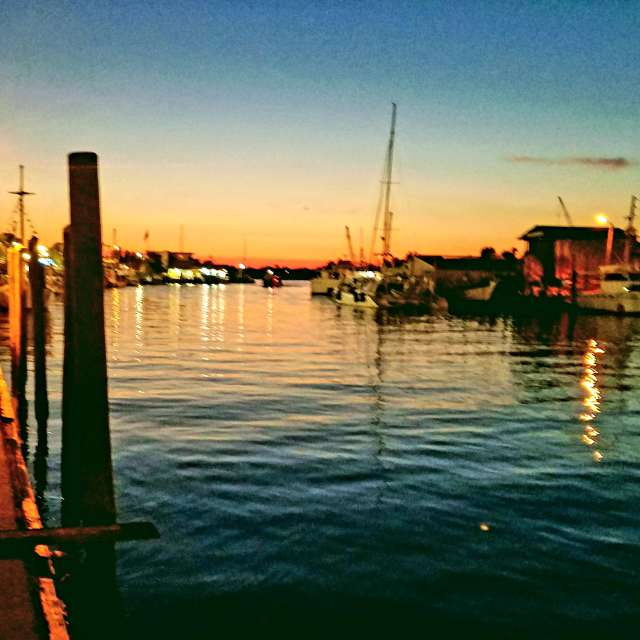 Sunset over Tarpon Springs
