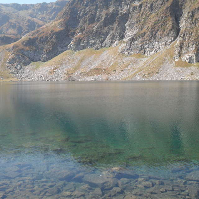 """Lake """"The Eye"""" in Bulgaria."""