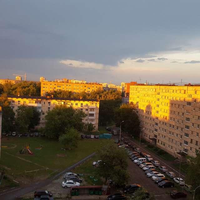 Ижевск, вечер.