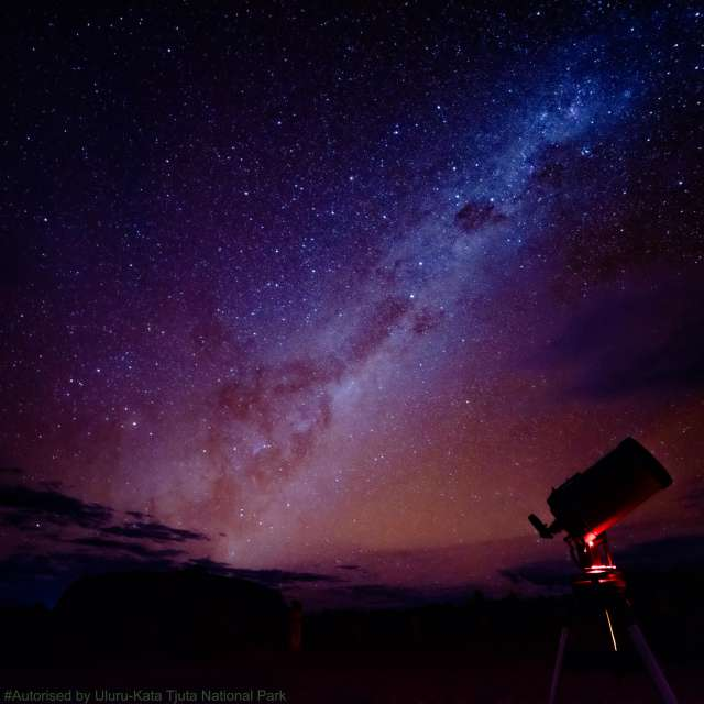 Milkyway on Uluru