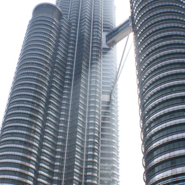 Petronas Towers with Sun Beam