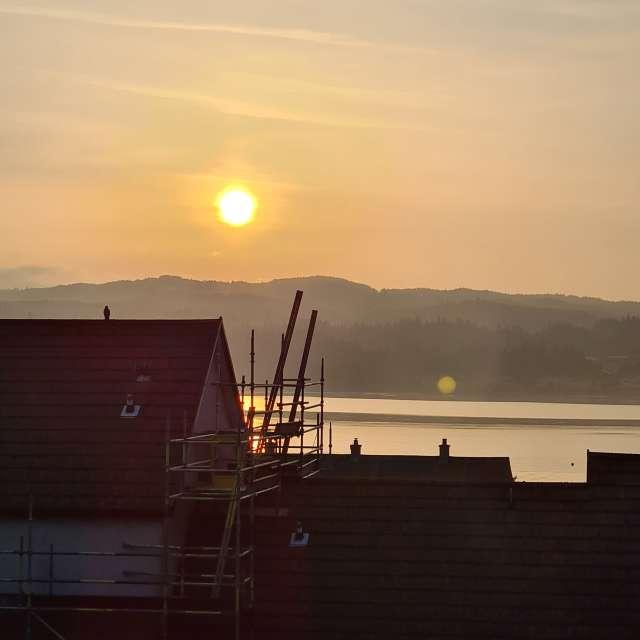 Sunrise, morning, UK