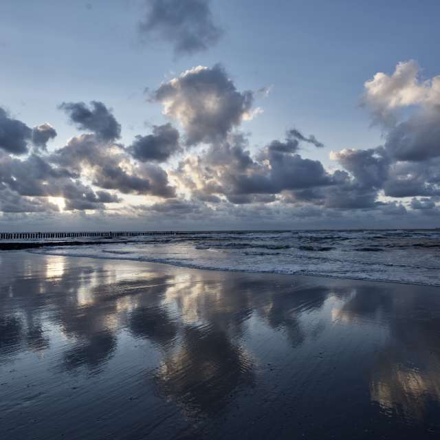 Nachdem Nordsee-Regen