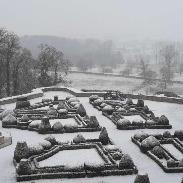Lichte sneeuw