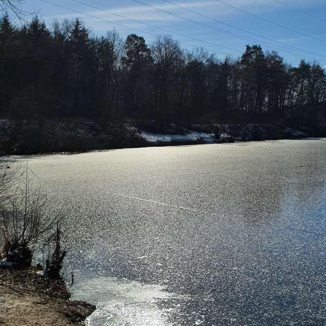 Icecold lake
