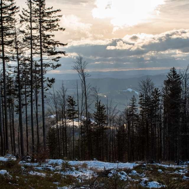 panorama Beskidu