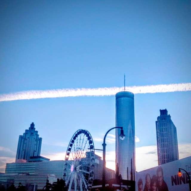 Early morning Atlanta skyline