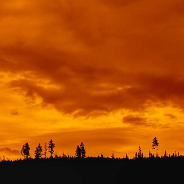 Sunrise, Tulameen, BC, Canada