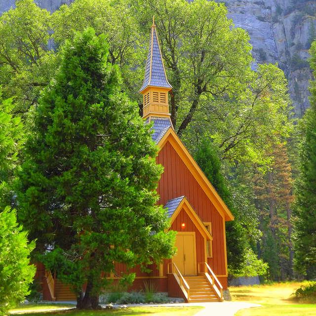 Small Church In Yosemite