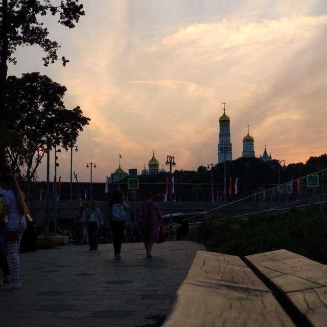 Зарядье Кремль День Города