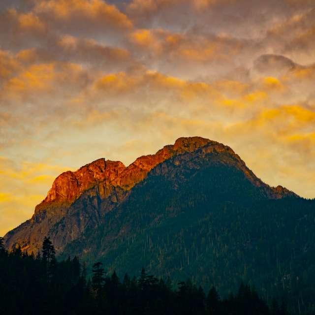 Morning Glow, Coquihalla, BC