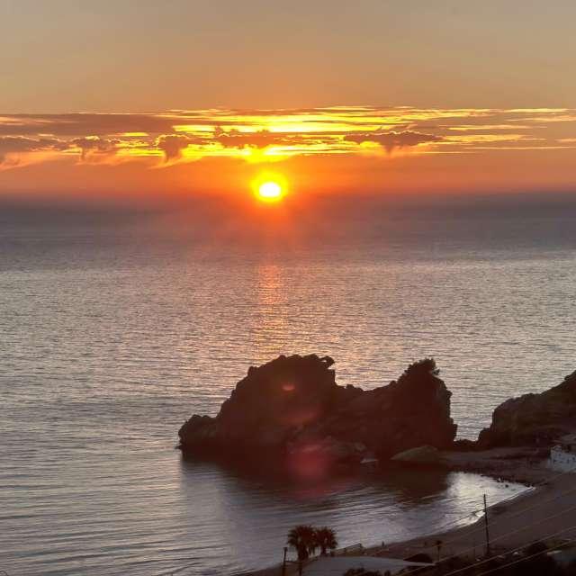 Το πανέμορφο ηλιοβασίλεμα