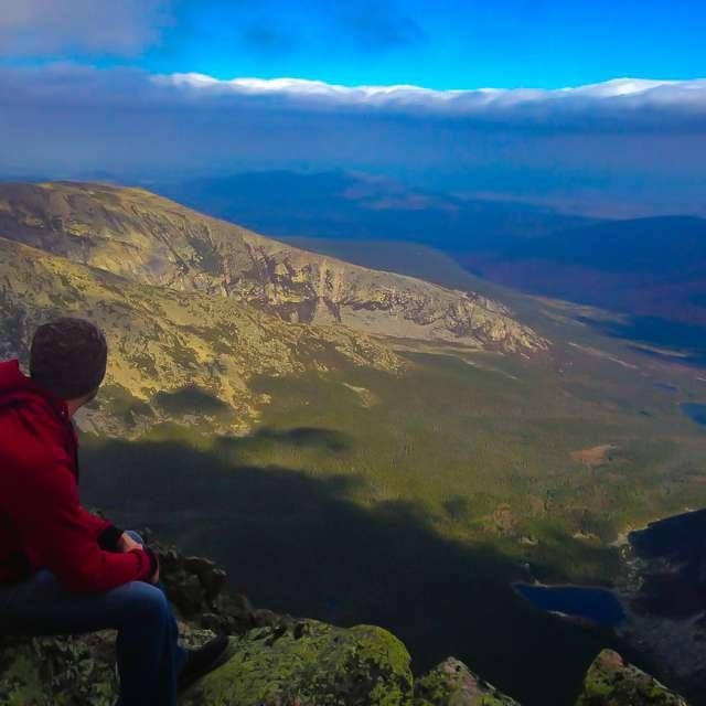 Summit of Mt Katahdin