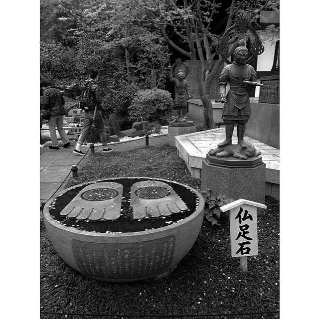 鎌倉大仏さんの足