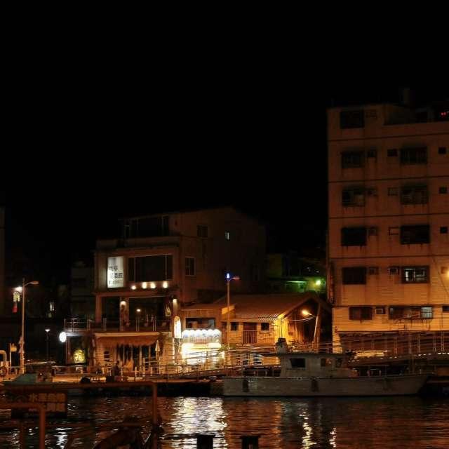 哨船街の夜 2 (高雄) Habor at night 2