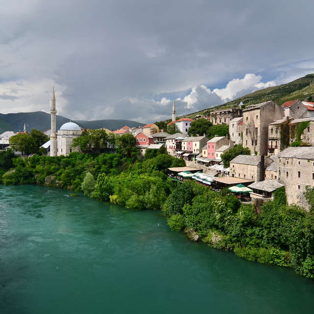 Clouds over Mostar