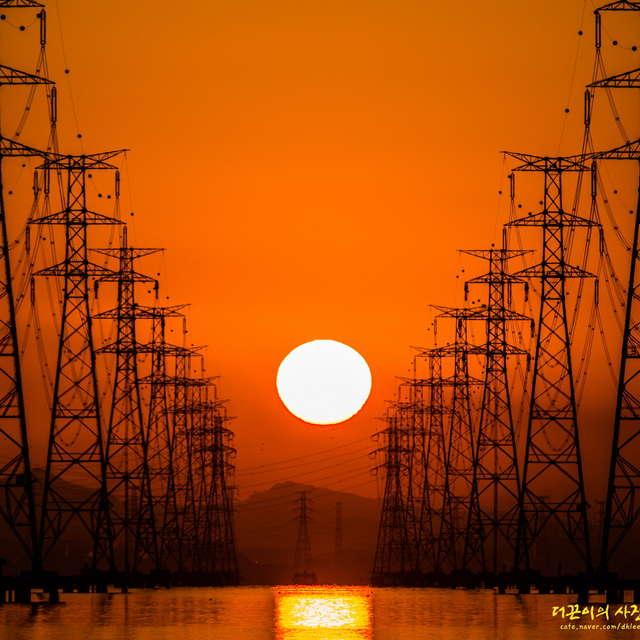 Sunrise at Sihwa Tower-01