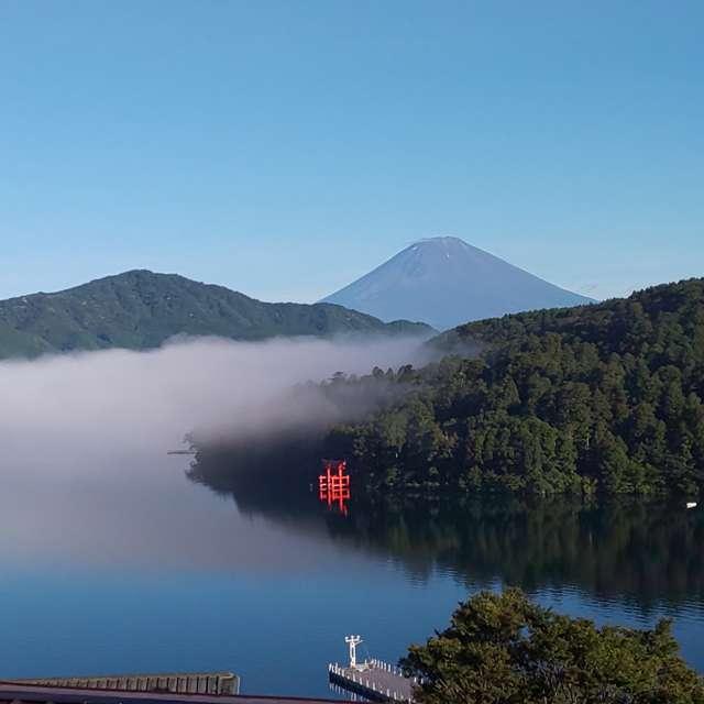 芦ノ湖 夏の雲海