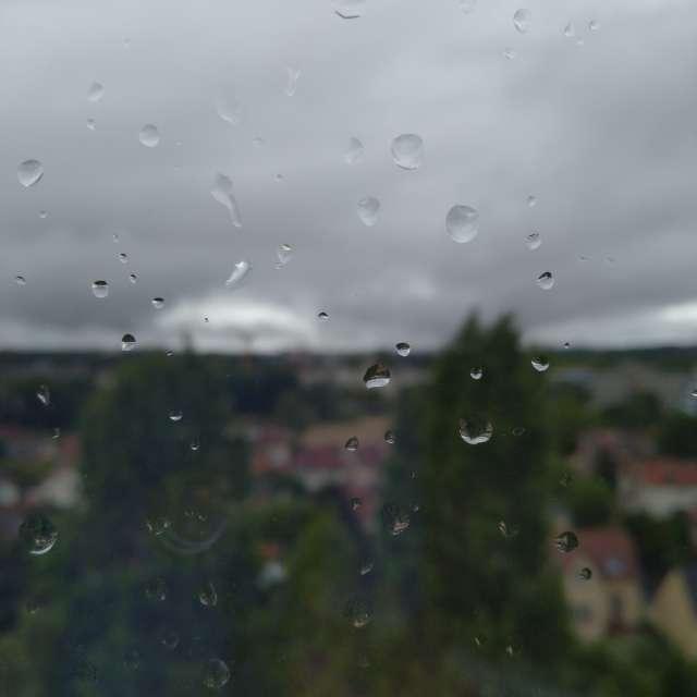 Antony sous la pluie