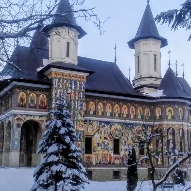 At Neamt Monastery Ro