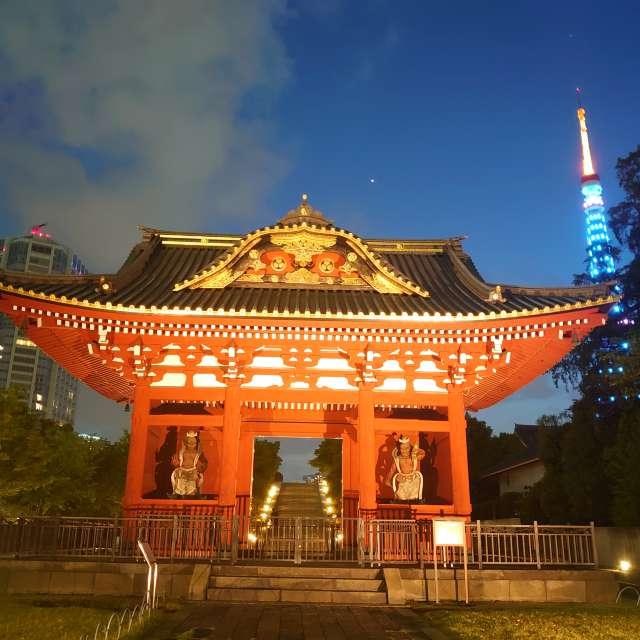 旧台徳院霊廟惣門