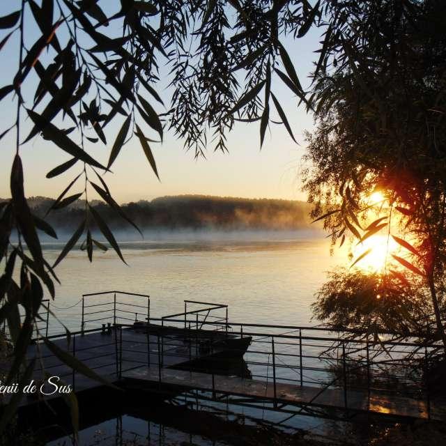 sunrise on the Danube