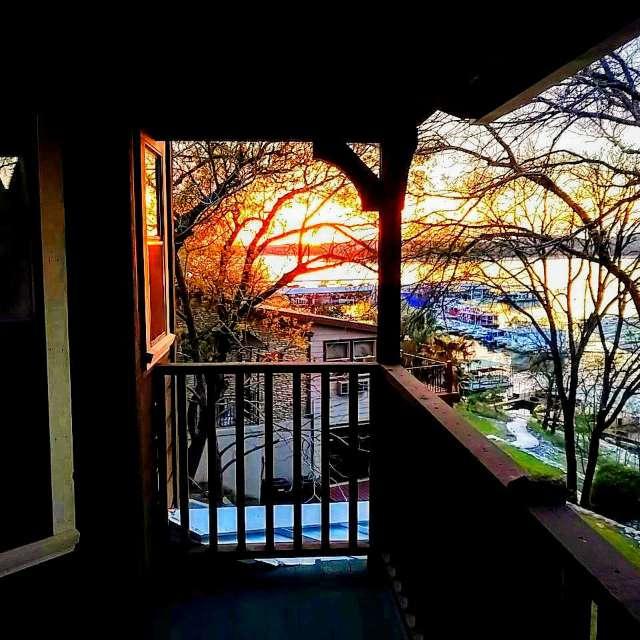 Lake Travis Texas sunset