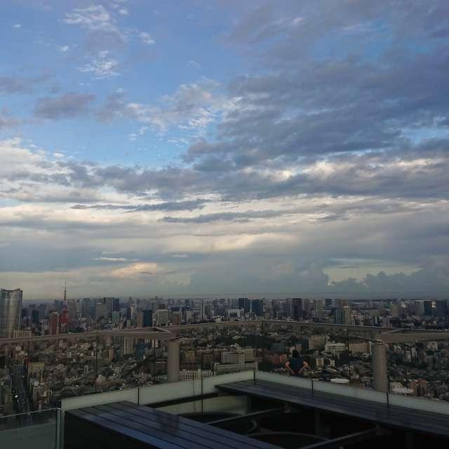 渋谷の空 shibuya,japan