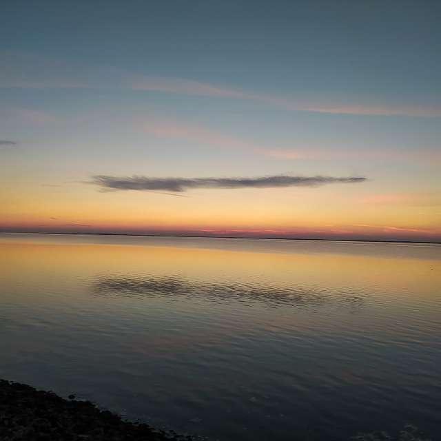 Sonnenuntergang in Ostbense