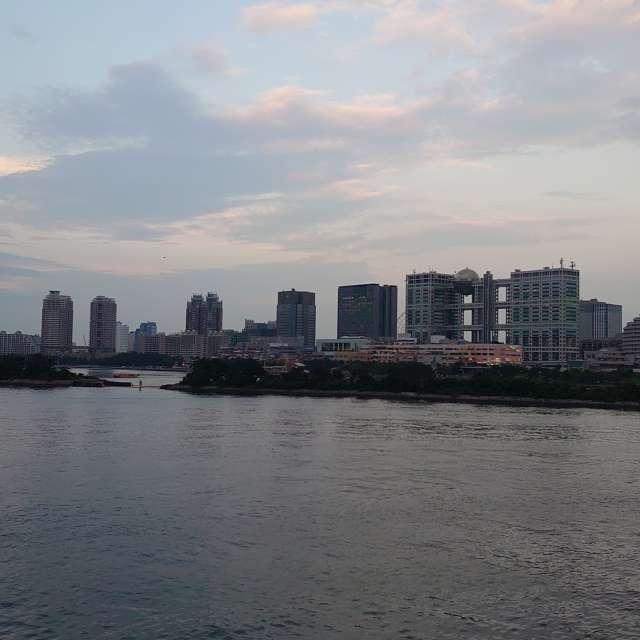 東京湾海上フジテレビ
