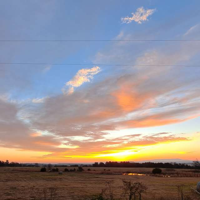 Beautiful December Sunrise