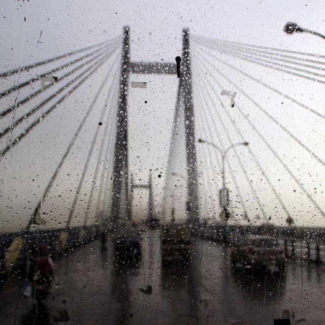 Vidyasagar setu Rain look