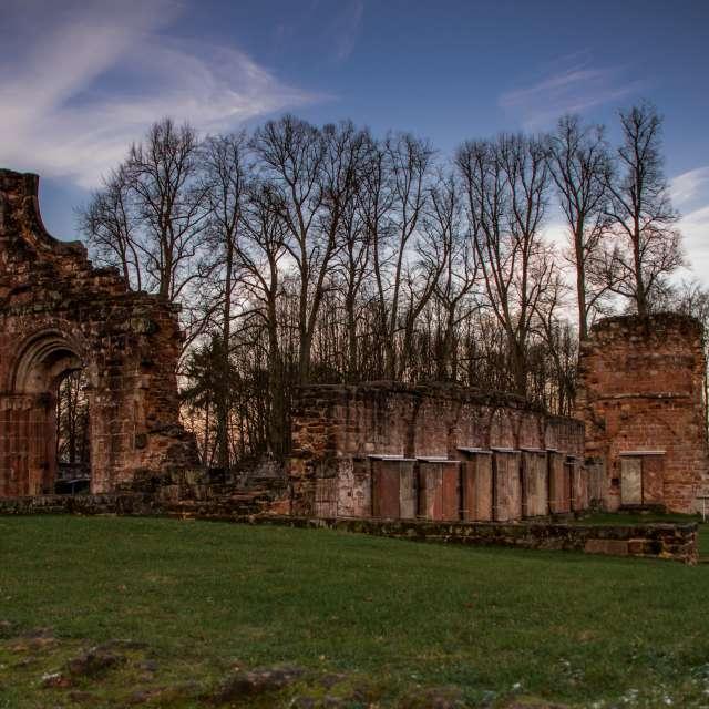 Abend an der Ruine