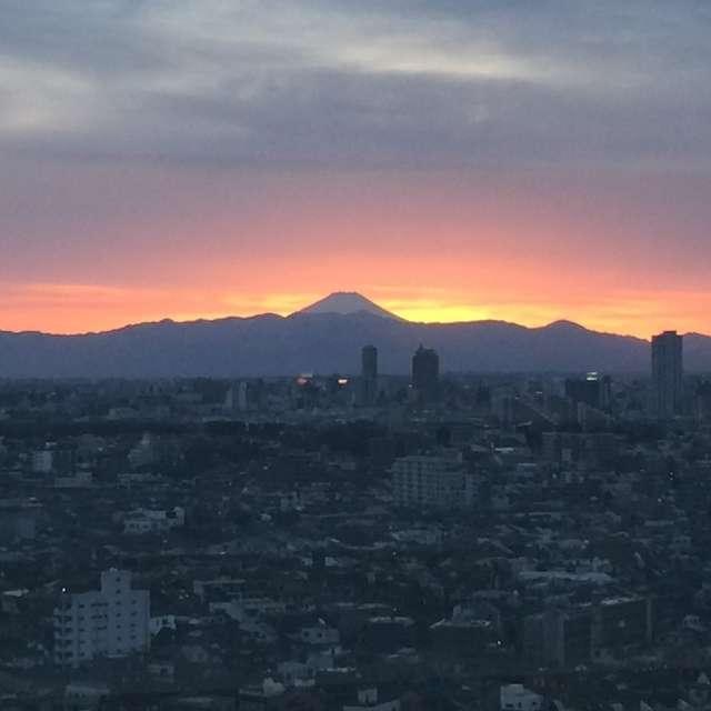 夕焼け 富士山 Sunset Mt Fuji