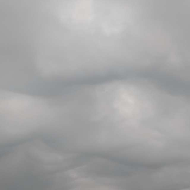 Specific pre-thunder clouds