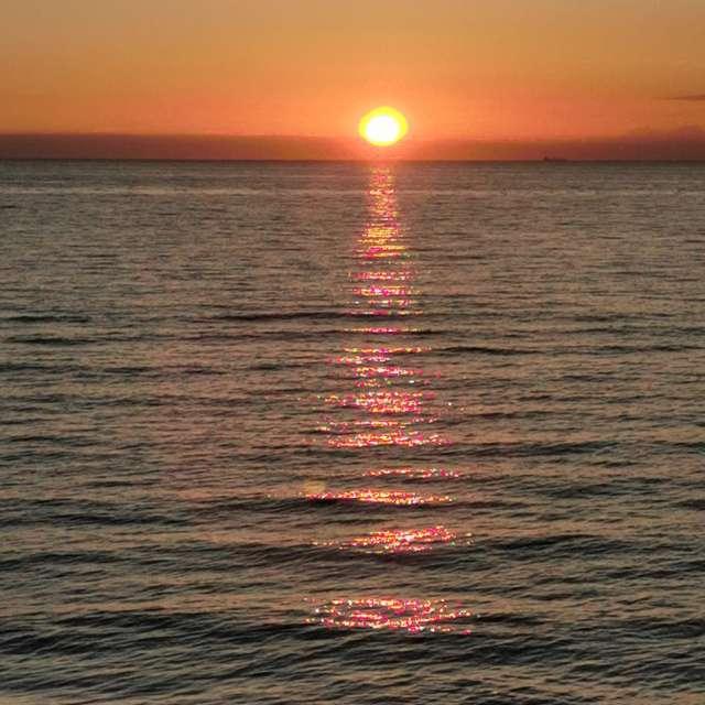 Sonnenuntergang Norden  Rügen