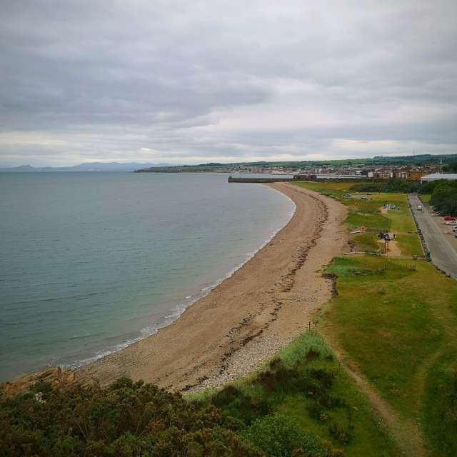 Kirkcaldy Bay in Scotland
