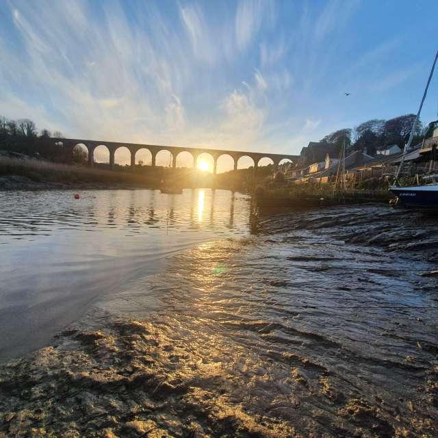 Cornish River Sunset