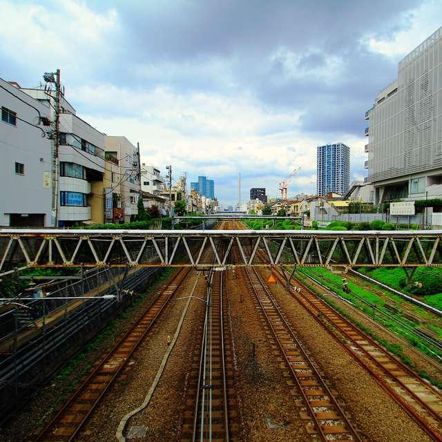 目黒駅からの風景