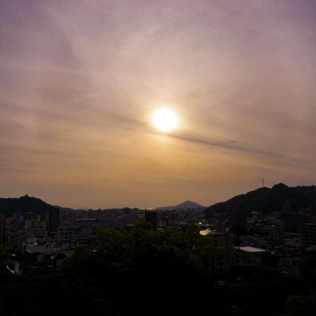 日幻の夕焼け
