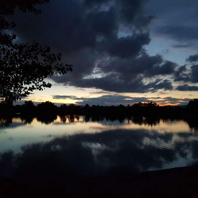 Dark field in Ivanka p. Dunaji