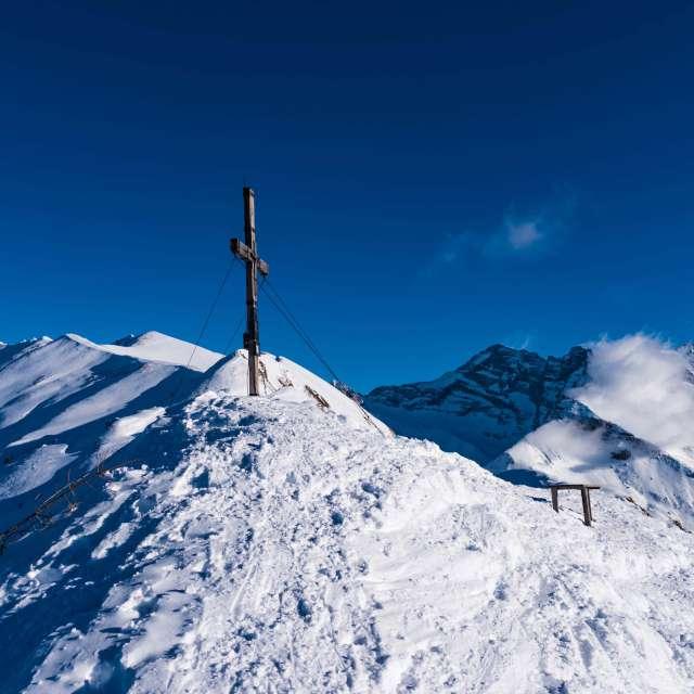Gipfelkreuz Ultenspitze