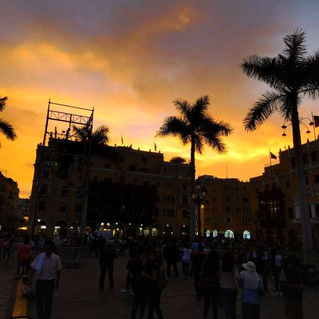 Sunset in Lima - Peru