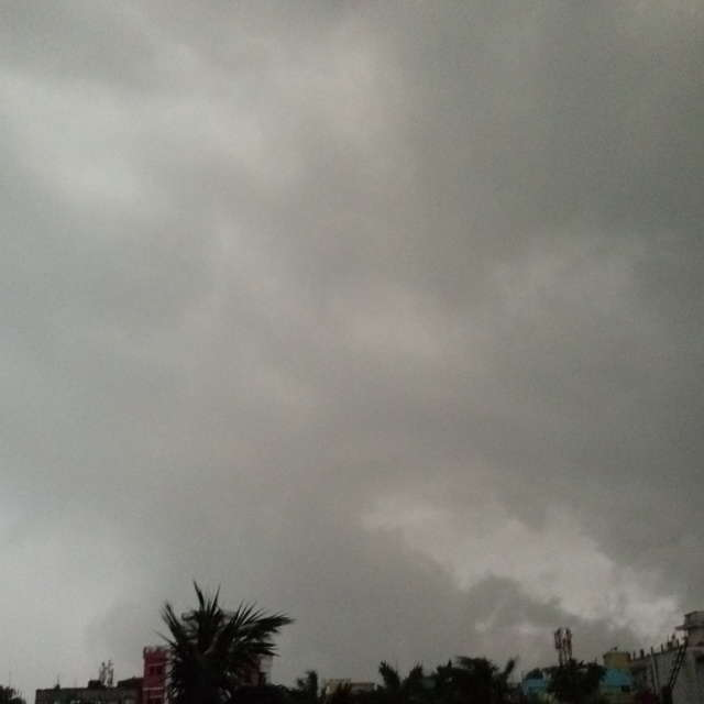 Rain before