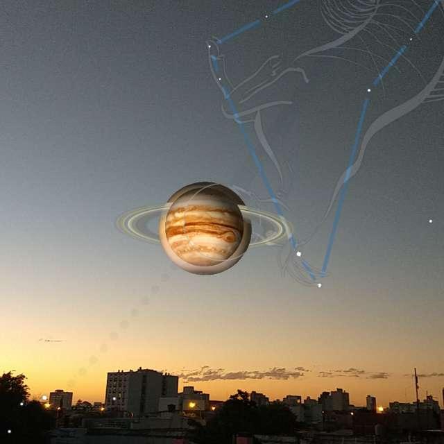 Júpiter y Saturno hoy 21/12/20