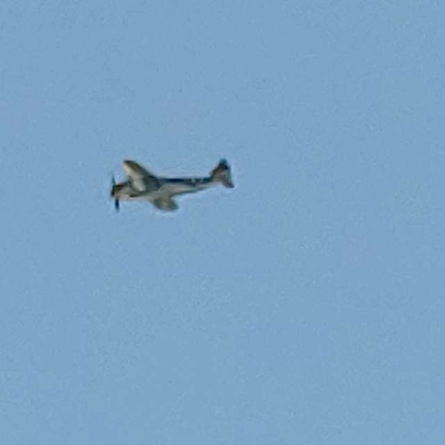 P47 summer fly over