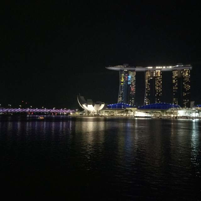 Marina Bay Hotel View @Night